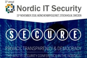 Secure Privacy, Transparency & Democracy 2018 - Base Cyber